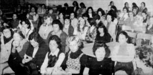 Ouvrières de la CIP. Pétroleuses, décembre 1976